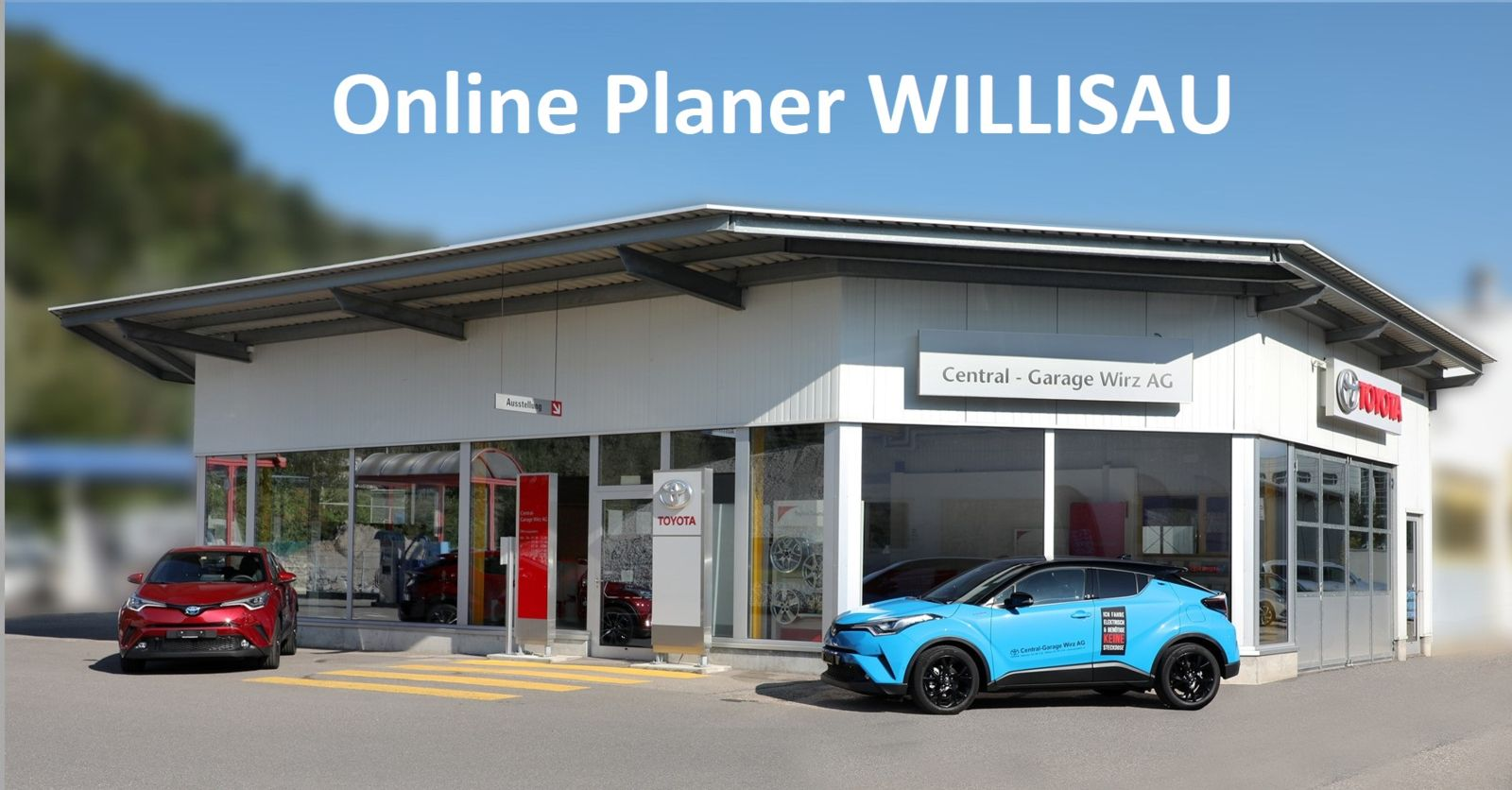 Online Terminbuchung  Central-Garage Wirz AG Willisau